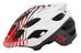 Fox Flux Savant Helmet Men red/white